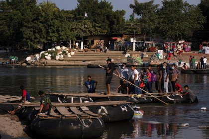 Ambos países coincidieron en la necesidad de impulsar una migración ordenada (Foto: Reuters / Isabel Mateos)