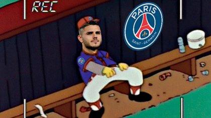 Meme de @franlauge sobre Mauro Icardi