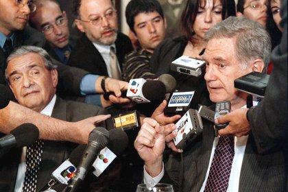 Anciens juges de la Cour suprême Julio Nazareno et Eduardo Moliné O'Connor