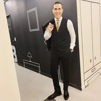 Rodolfo Barili está nominado como mejor estilo de conductor de noticiero por Telefé