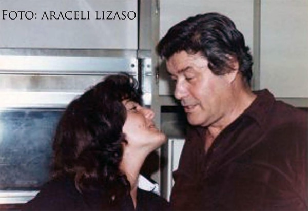 Araceli Lisazo y Guy Williams