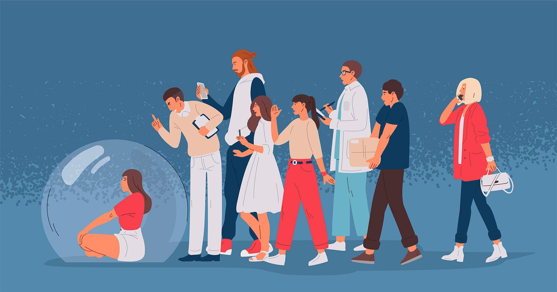 """""""Más allá del grupo o colectivo de los asexuales, existen cada vez más personas que viven su bajo interés sexual sin problemas, es decir, no sienten culpas ni se reprochan no tener ganas"""" (Shutterstock)"""