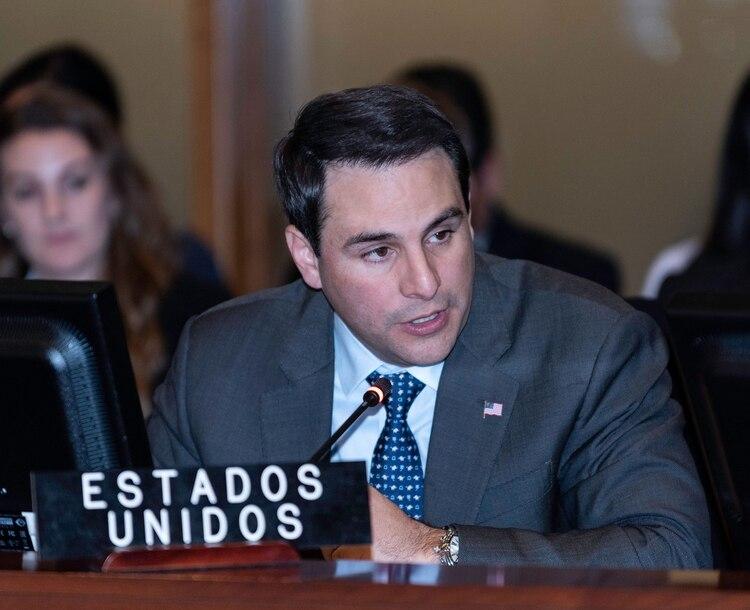 Carlos Trujillo, el embajador norteamericano ante la OEA