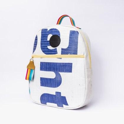 Las mochilas con los estampados originales de los bolsones de arena