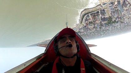 Jorge Malatini, dado vuelta sobre Mar del Plata