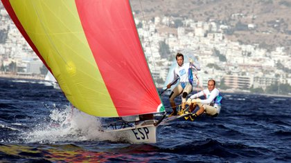 Iker Martínez ganó dos medallas olímpicas: oro en Atenas 2004 y plata en Beijing 2008 (Shutterstock)