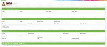 Portal de solicitud de la Beca Leona Vicario (Foto: Sistema para el Desarrollo Integral de la Familia de la Ciudad de México)