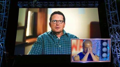 El momento del mensaje de Michael j. Fox
