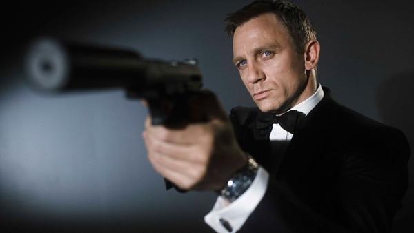 Daniel Craig personificó a James Bond en cuatro películas