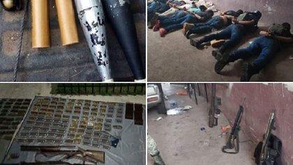 Esta misma semana fue detenida una célula del CJNG en Tepalcatepec, Michoacán (Foto: Especial)