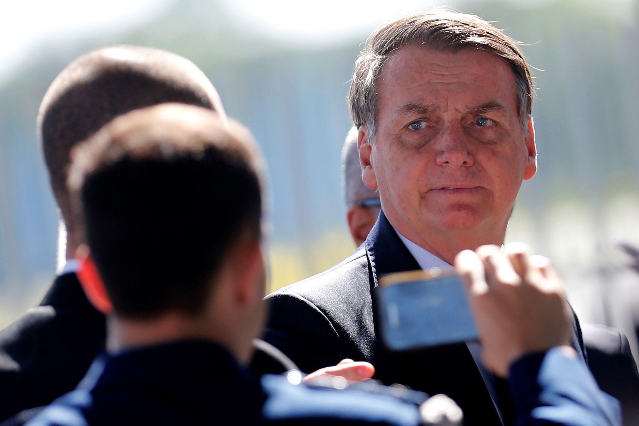 El presidente de Brasil, Jair Bolsonaro, criticó a Alberto Fernández y adelantó que no vendrá a su asunción