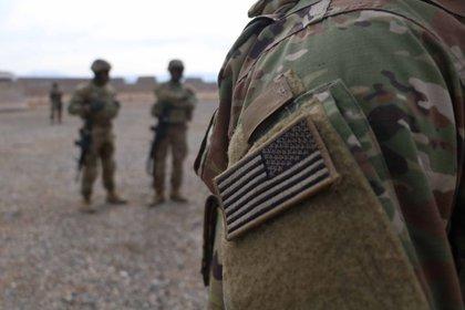 Soldados estadounidenses en Herat, Afganistán. EFE/Jalil Rezayee/Archivo