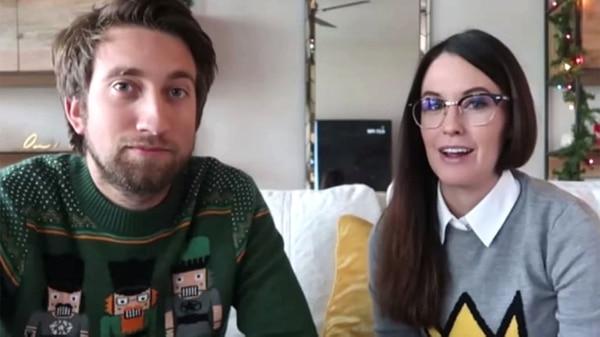 Gavin Free y su novia Megan Turney vivieron momentos de pánico en su casa de Austin, Estados Unidos