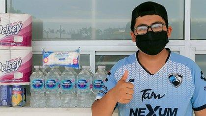 Tampico Madero logró juntar 200 despensas (Foto: Cortesía/ Jaiba Brava)