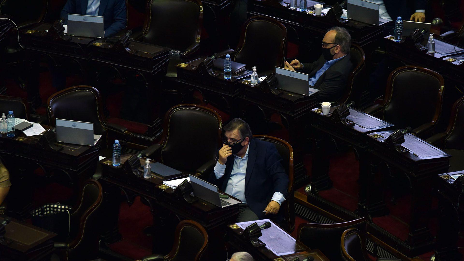 Mario Negri, jefe del interbloque de Juntos por el Cambio (Franco Fafasuli)