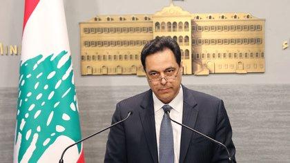07/03/2020 El primer ministro de Líbano, Hasán Diab POLITICA INTERNACIONAL -/Dalati & Nohra/dpa