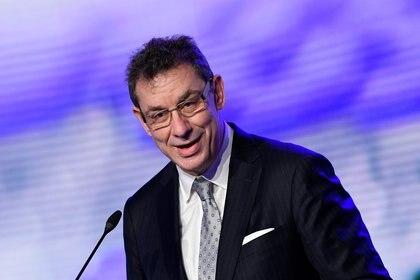 El CEO de Pfizer Albert Bourla (John Thys via REUTERS)