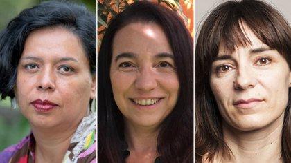 Cecilia González, Analía Argento y Vanina Escales