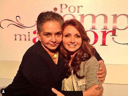 "Ana Martin recordó un divertido momento con ""La Gaviota"" (Foto: Instagram de Ana Martin)"