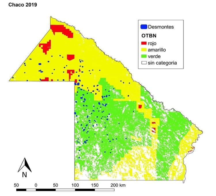 Deforestación en Chaco (Greenpeace)
