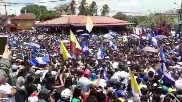 La gente mantiene las protestas en Nicaragua contra el régimen de Ortega