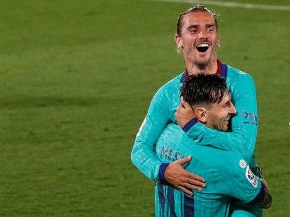 Messi fue una de las figuras en la victoria de su equipo sobre el Villarreal REUTERS/Albert Gea