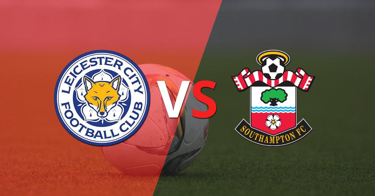 Leicester City marcó dos veces en la victoria ante Southampton en el estadio King Power Stadium - Infobae