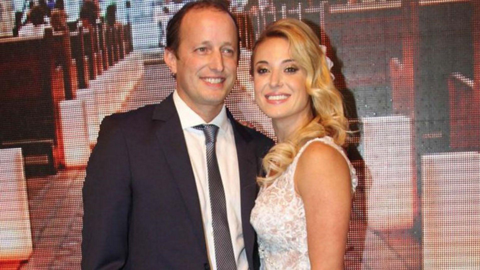 Insaurralde y Cirio son pareja desde el año 2013