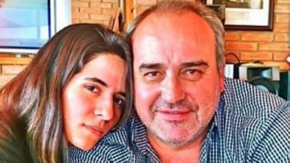 El Pato, junto a Cecilia Torres Mana, la última pareja que lo denunció (La voz del Interior)
