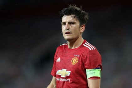 Harry Maguire, capitán del Manchester United (Reuters)