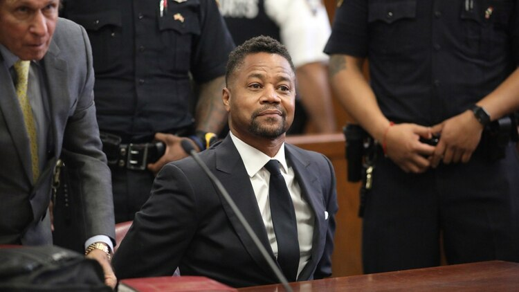 Cuba Gooding Jr. compareció el martes ante un juez en Nueva York y quedó en libertad bajo palabra