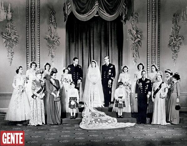 La reina Isabel y Felipe de Edinburgo se casaron en 1946