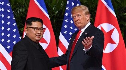 Kim Jong-un y Donald Trump se reunieron