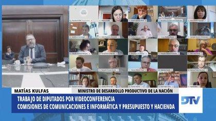 El ministro Matías Kulfas defendió el proyecto de ley en Diputados