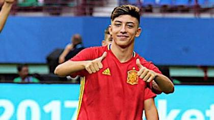 César Gelabert pasó por la Sub 17 y 19 de España (@ces11gelabert)
