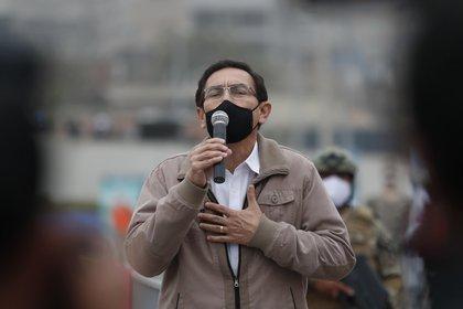 El expresidente de Perú, Martín Vizcarra. EFE/Paolo Aguilar/Archivo