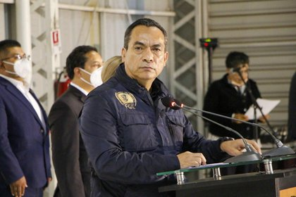 Adrián López Solís, Fiscal General de Michoacán, dio a conocer la detención de Diego Urik