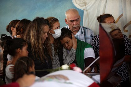 Funeral de Jessica Foto: Reuters/Jose Luis Gonzalez