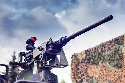 La ametralladora Browning M2 nació en 1933. Fue diseñada por John Browning hacia finales de la Primera Guerra Mundial y terminada por la empresa Colt (Shutterstock)