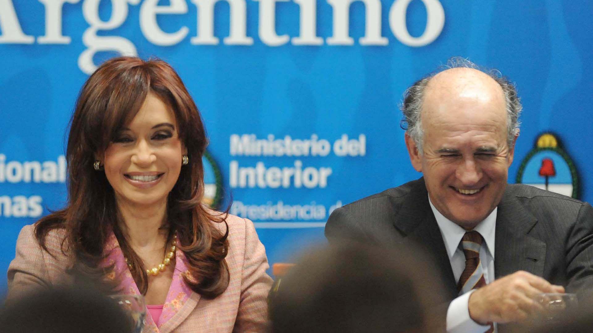 Cristina Fernández y Oscar Parrilli, antes de las elección de Alberto Fernández como Presidente