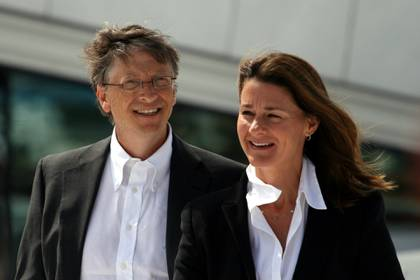 Bill y Melinda Gates. Foto: Instagram