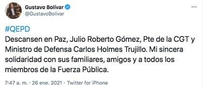 Trino de Gustavo Bolívar.