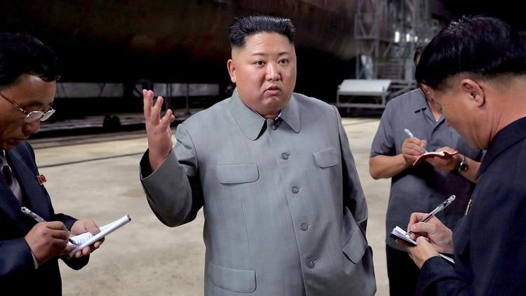 El dictador norcoreano Kim Jong-un (AFP)