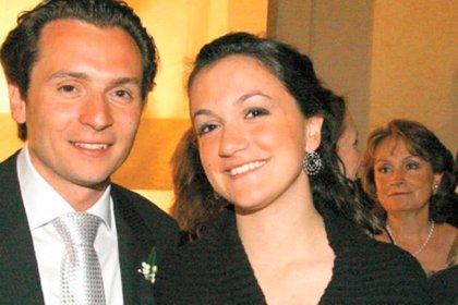 Emilio Lozoya y su hermana, Gilda Susana (Foto: especial)