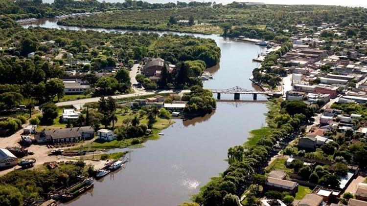 Los cinco inmuebles embargados están en la ciudad uruguaya de Carmelo