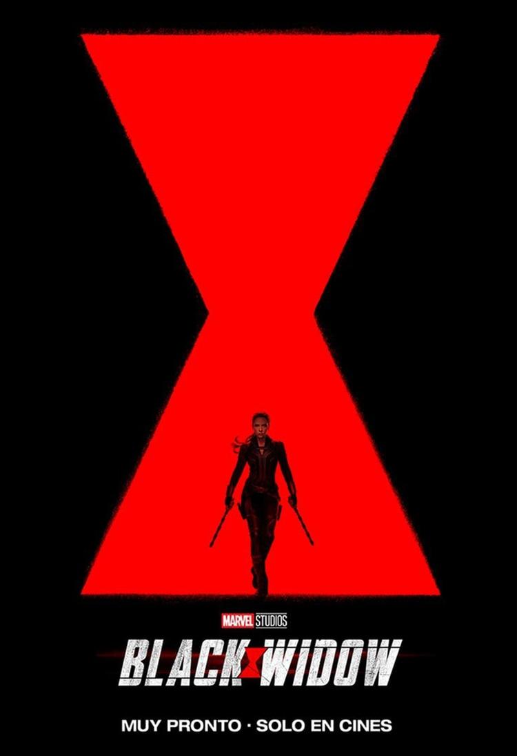 El afiche oficial de Black Widow, el nuevo filme de Marvel Studios