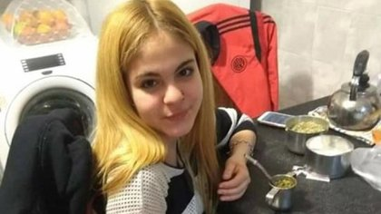 Ludmila Pretti, de 14 años.