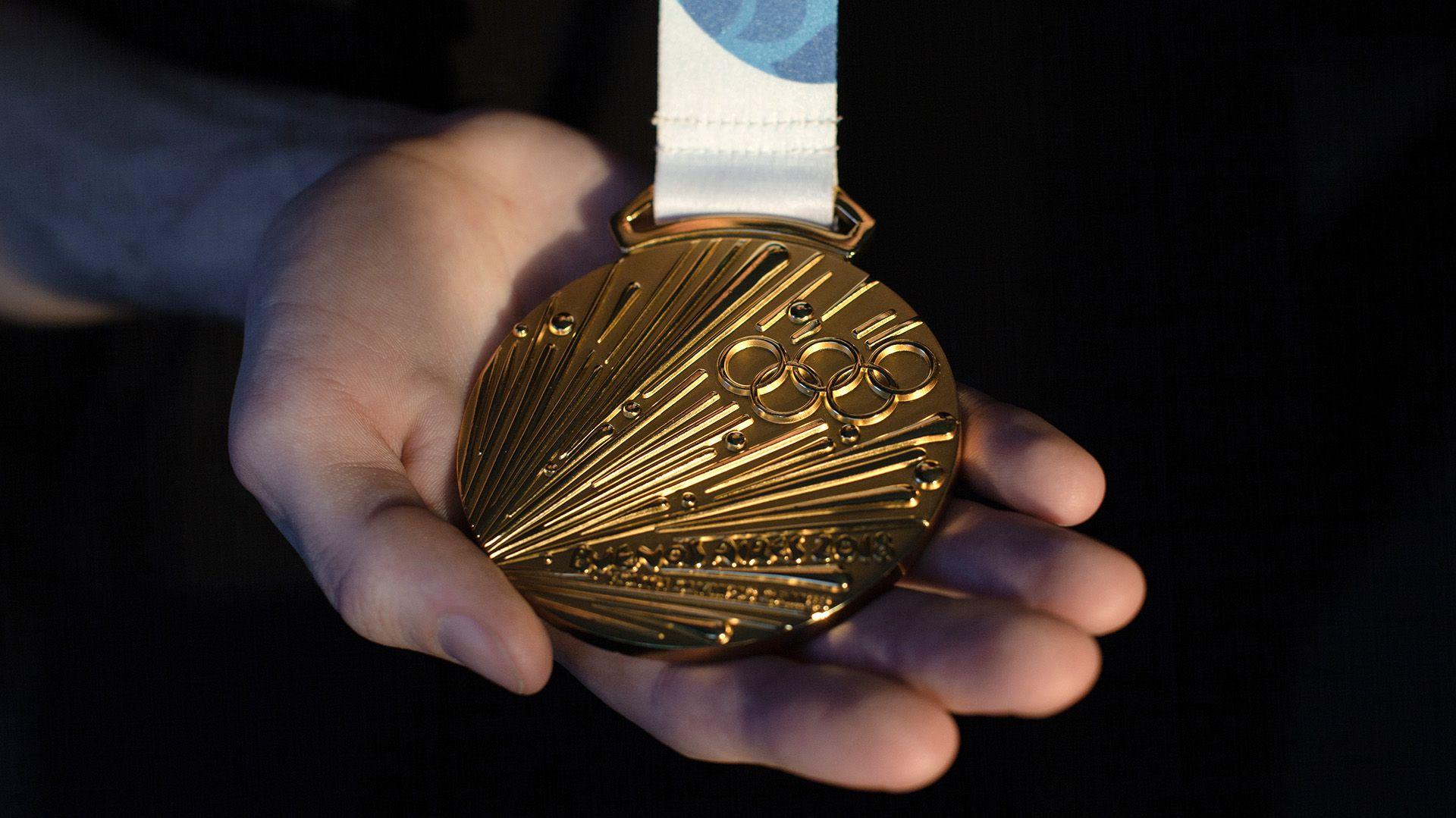 La medalla de oro de los Juegos Olímpicos de la Juventud de Buenos Aires, la primera vez que el break dancing fue incluido como evento (Emile Ducke/The New York Times)