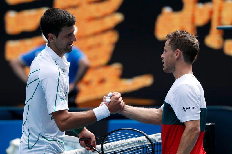 En enero, el serbio venció a Diego Schwartzman en el Abierto de Australia (Reuters)