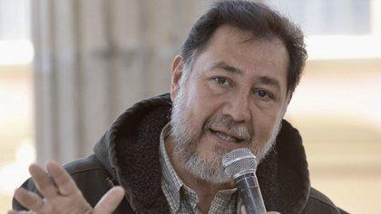 Fernandez Noroña fue amenazado con ser incluido en el Registro Nacional de personas Sancionadas en Materia de Violencia de Género (Foto: Cuartoscuro)